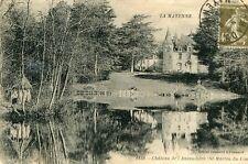 Carte SAINT MARTIN DU LIMET Château de l'Ansaudière