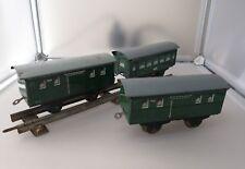 Karl BUB Blech 3 Stck. Wagons Spur S , Uralt