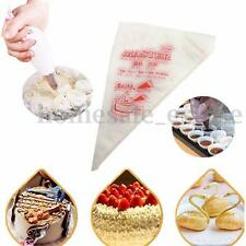 100X 13'' Disposable Piping bag Icing Nozzle Fondant Cake Decorating Pastry Tips