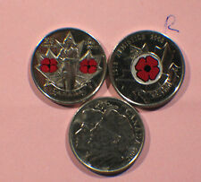 2005,08,10 Canada 25 Cents,Twenty Five Cent, Quarter 25c, War Veteran,Lot 3 coin