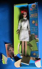 Vintage Barbie Julia Nurse en vrac dans box 1969 mattel