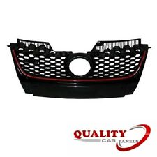 FRONT BUMPER GRILLE MAIN WITH RED MOULDING VW GOLF MK5 2004-2008 GTI BRAND NEW