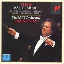 CD Verdi James Levine The MET Orchestra Ballet Music From The Opera Sony 1993