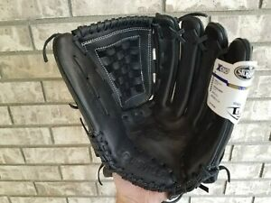 "NEW Louisville Xeno Fast Pitch Softball Glove 12.75"" XNRF 171275 RHT Black"