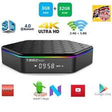 T95Z Plus S912 3GB 32GB Smart TV Box Octa Core Android 7.0 Dual WIFI 4K KD