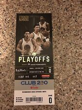 2017 GOLDEN STATE WARRIORS VS CLEVELAND CAVALIERS GAME #5 FINALS TICKET STUB