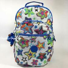 KIPLING SEOUL Large Backpack with Laptop Protection Mystic Sunset Print