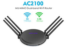 Wavlink AC2100 Wireless Dual-Band Gigabit Router,Supports 2.4G&5G &USB 3.0 Port