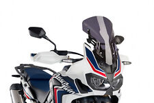 HONDA AFRICA TWIN ADVENTURE SPORTS 2018 > PUIG SCREEN DARK SMOKE RACING -60MM