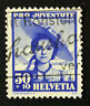 Timbre SUISSE - Stamp SWITZERLAND - Yvert et Tellier n°357 (a) obl (Cyn16)