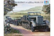 TRUMPETER 07275 1/72 German 18 Ton Heavy Half-Track and Tank Transporter