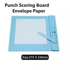 Envelope Punch Board Envelope Scoring Board Mini Folder Measuring Tool New 1pc