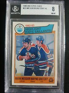 1983-84 O-PEE-CHEE #23 Wayne Gretzky BGS