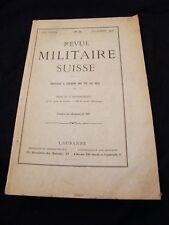 Revue militaire Suisse N°12 Décembre 1908
