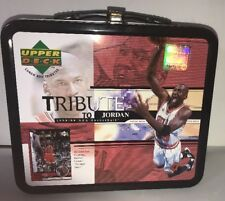 Micheal Jordan Tribute Lunchbox Upper deck *