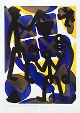 A.R. Penck Vergleich I Poster Kunstdruck Bild 70x50cm