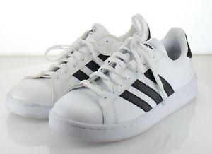 89-42 MSRP $60 Women's Sz 9.5 M Adidas Grand Court Low Sneaker - White
