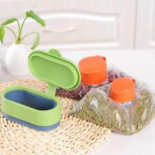 Food Storage Bag Cap Kitchen Plastic Sealing Cover Preserve Fresh Reusable Lid