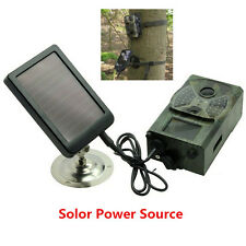 For SUNTEK Hunting Trail Camera 1500mAh Rechargeable Solar Panel Battery Charger