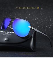 Occhiali da Sole Polarizzati, Aaron HD, Protezione UV 400, per uomo e donne.