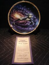 Star Trek The Voyagers Klingon Battlecruiser Collectors Plate Hamilton 1994