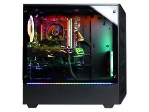CyberPowerPC (2TB HDD + 240GB SSD, AMD Ryzen 5-2600, RX 580, 16GB)