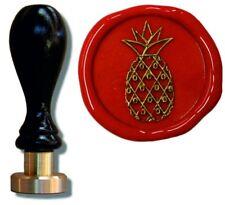 Udig Siegel Stempel Petschaft Ananas 24 mm Qualitäts Siegelstempel Briefsiegel