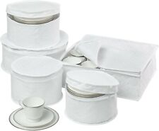 New listing Honey-Can-Do Sft-01630 Dinnerware Storage Set, 5-Piece