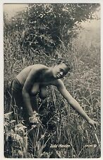 S Africa Busty nude Zulu Woman/Donna con nuda petto * VINTAGE 20s ethnic PC