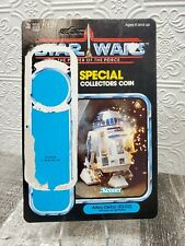 1984 Unpunched Star Wars Power of the Force Kenner Artoo-Detoo (R2-D2) CardBack