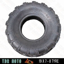 2x QIND 19 X 7 - 8 Inch Tyre  Tire 125/150/200/250CC Quad Bike ATV Buggy Mower