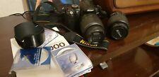 Reflex Nikon D5000 18-55 e 55-200 + filtri