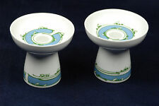 Royal Copenhagen Denmark Candlestick Candle Holders Porcelain from 1984