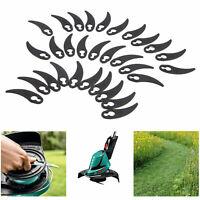 30x Plastic Garden Grass Lawnmower Trimmer Strimmer Cutter Blades Mowing Replace