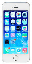 Apple iPhone 5s 64GB Unlocked GSM 4G LTE Dual-Core 8MP Camera Phone - Silver