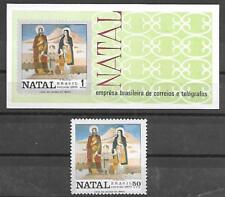 BRAZIL SOUVENIR SHEET #1180-1181 (NH) FROM 1970
