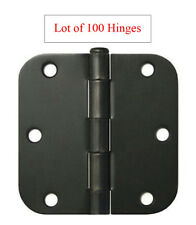 "100 Oil Rubbed Bronze 3.5"" with 5/8 Radius Round  Door Hinges free shipping"