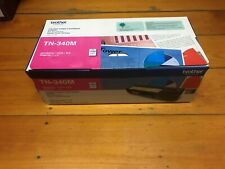 GENUINE/ORIGINAL Brother TN-340 Magenta Toner Printer Cartridge New