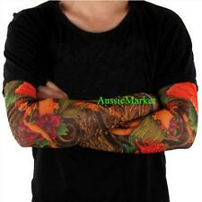 1 x tattoo sleeve fake temporary girls stocking party rave fancy dress body art