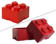 LEGO STORAGE - Scatola porta-oggetti LEGO (altezza complessiva 18 cm circa)
