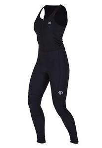Pearl Izumi W Elite Thermal Droptail Bib Tight 3D Chamois Women's Black XL New
