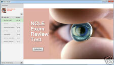 NCLE EXTENDED OPTICIAN CONTACT LENS EXAM STUDY CD NEW VERSION!