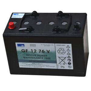 Exide Sonnenschein GEL-Batterie Dryfit Traction Block GF 12 076V wartungsfrei