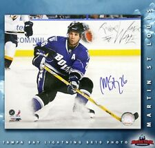 MARTIN ST. LOUIS Signed Tampa Bay 8 X 10 -70503
