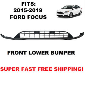 Fits 2015-2018 Ford Focus Front bumper Lower Valance Panel Grill for F1EZ17626A