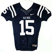 Nike Football Jersey Youth Boys Sz M Medium Ole Miss Mississippi Throwback 15
