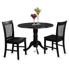 3 Piece Small Kitchen Table And Chairs Set-Kitchen Table Plus 2 Dinette Chairs