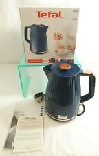 NEW Tefal Loft Kettle in Midnight Blue and Rose Gold - 1.7L - Thames Hospice