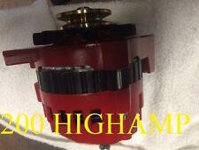 HIGH OUTPUT RED HD ALTERNATOR FITS CHEVY GM EL CAMINO  1-WIRE 1965-1985 Camaro