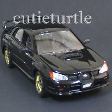 Motormax 2006 Subaru Impreza WRX Sti 1:24 Diecast Model Car 74330 Black